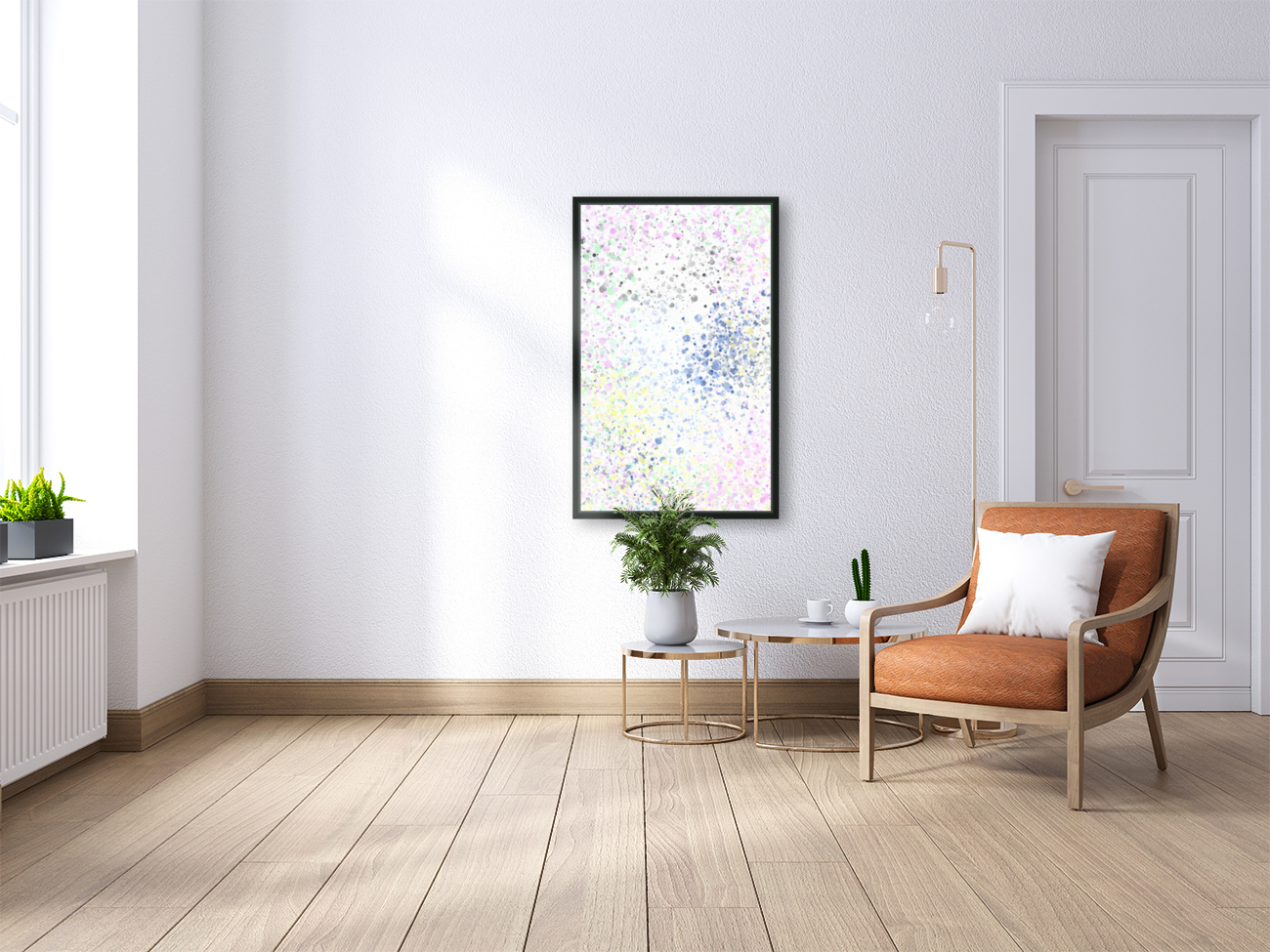 ABSTRACT PAINTING 40  Art