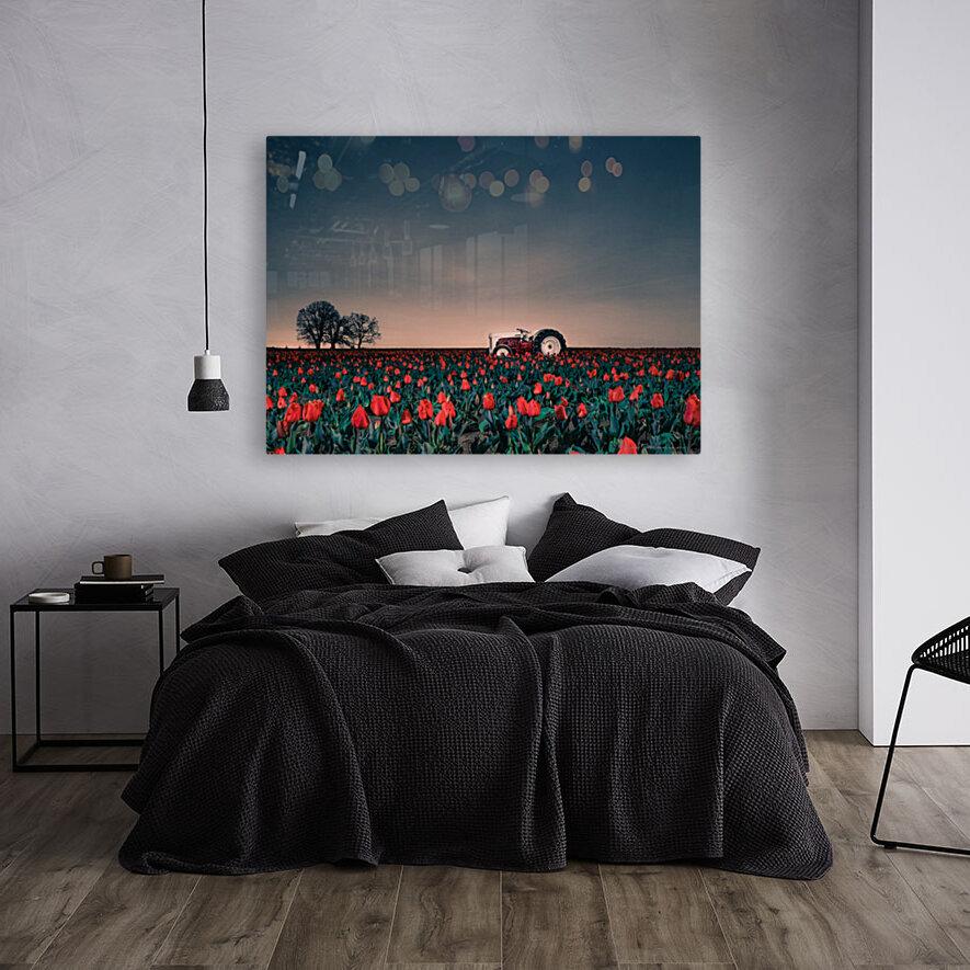 Tractors & Tulips  Art