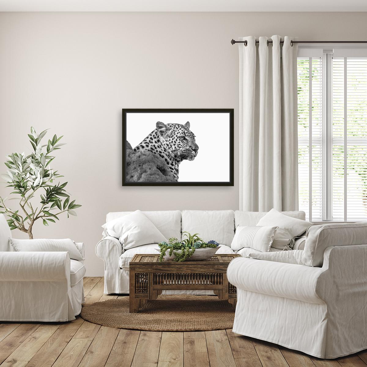 Leopard - B&W  Art