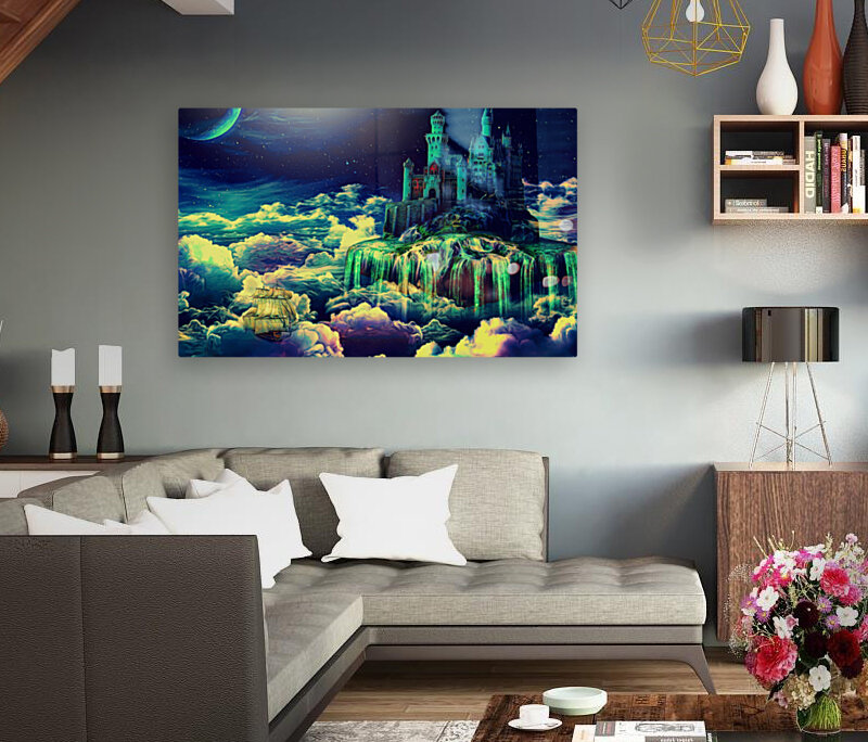 Castle In The Clouds  Art
