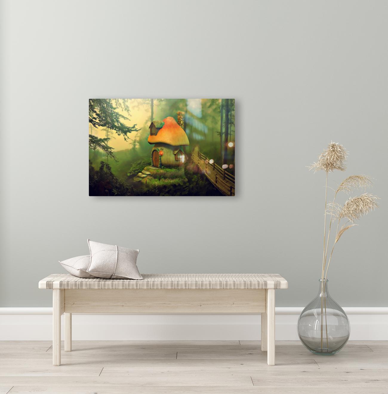 Mushroom Cottage  Art