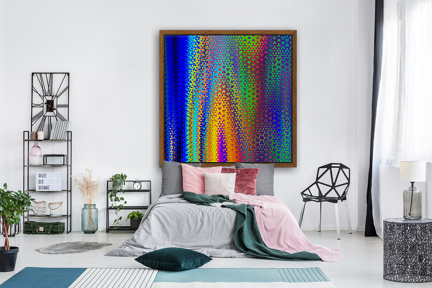 psychedelic wave  Art