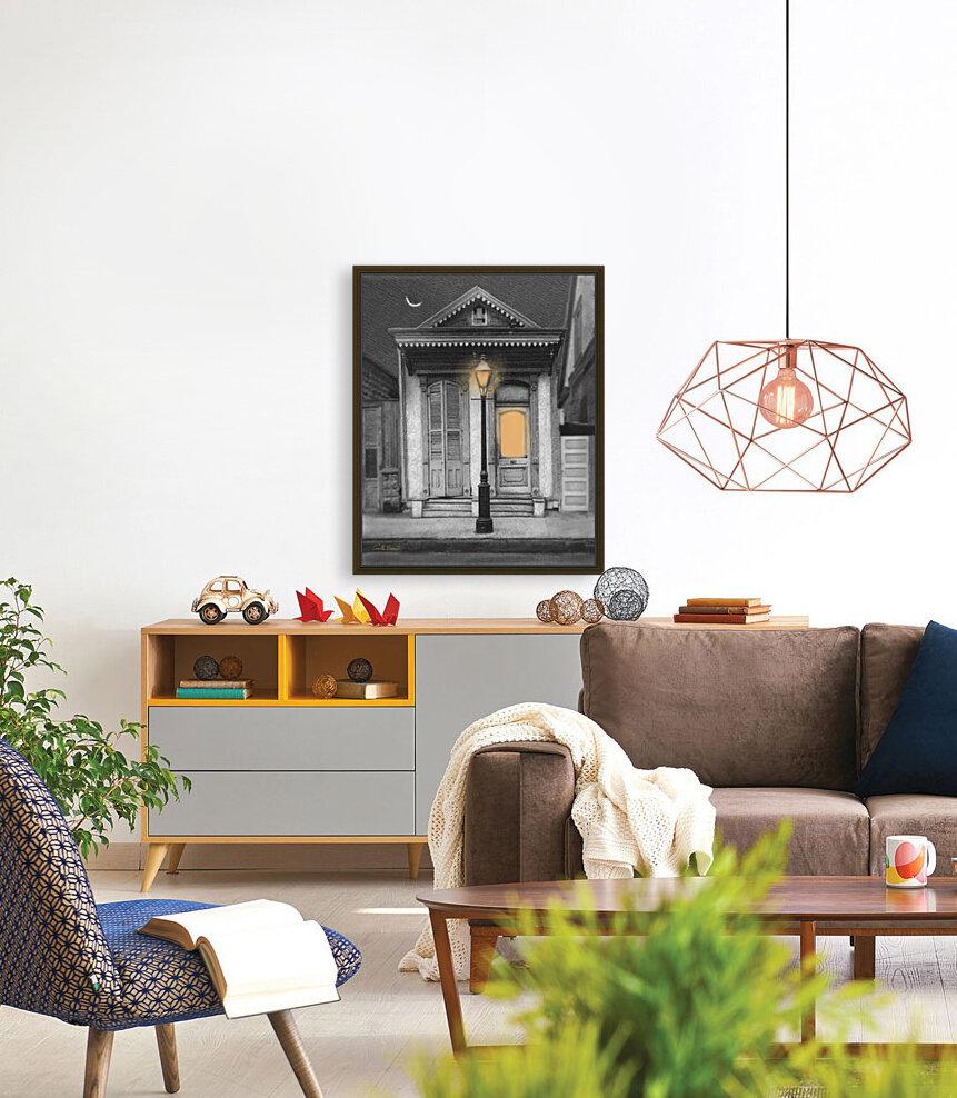 French Quarter Lamp Light  Art
