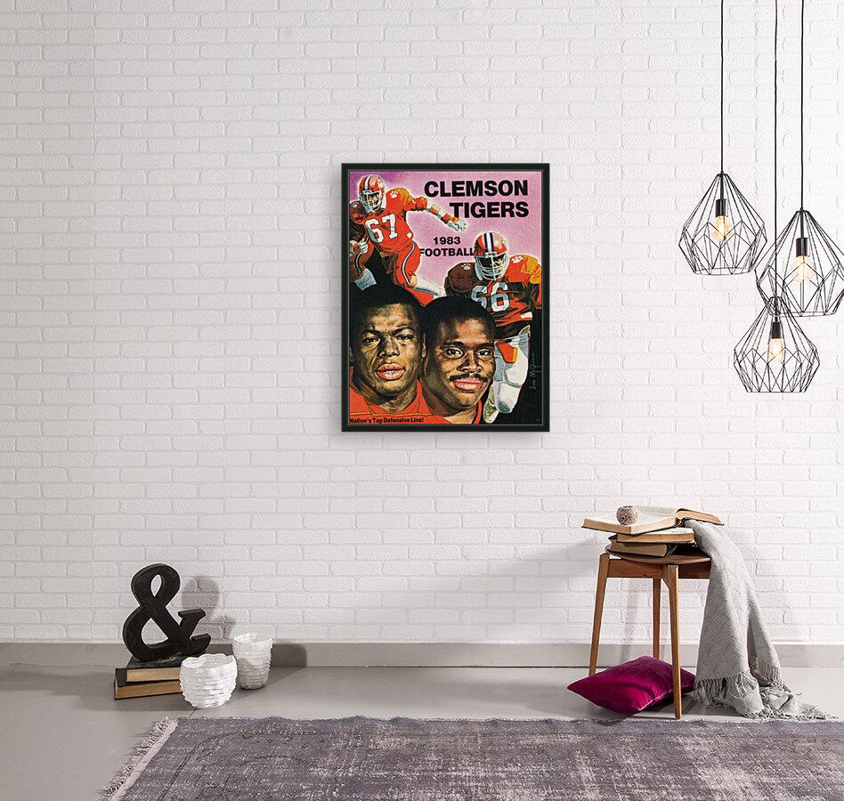 1983 Clemson Tigers Football Poster  Art