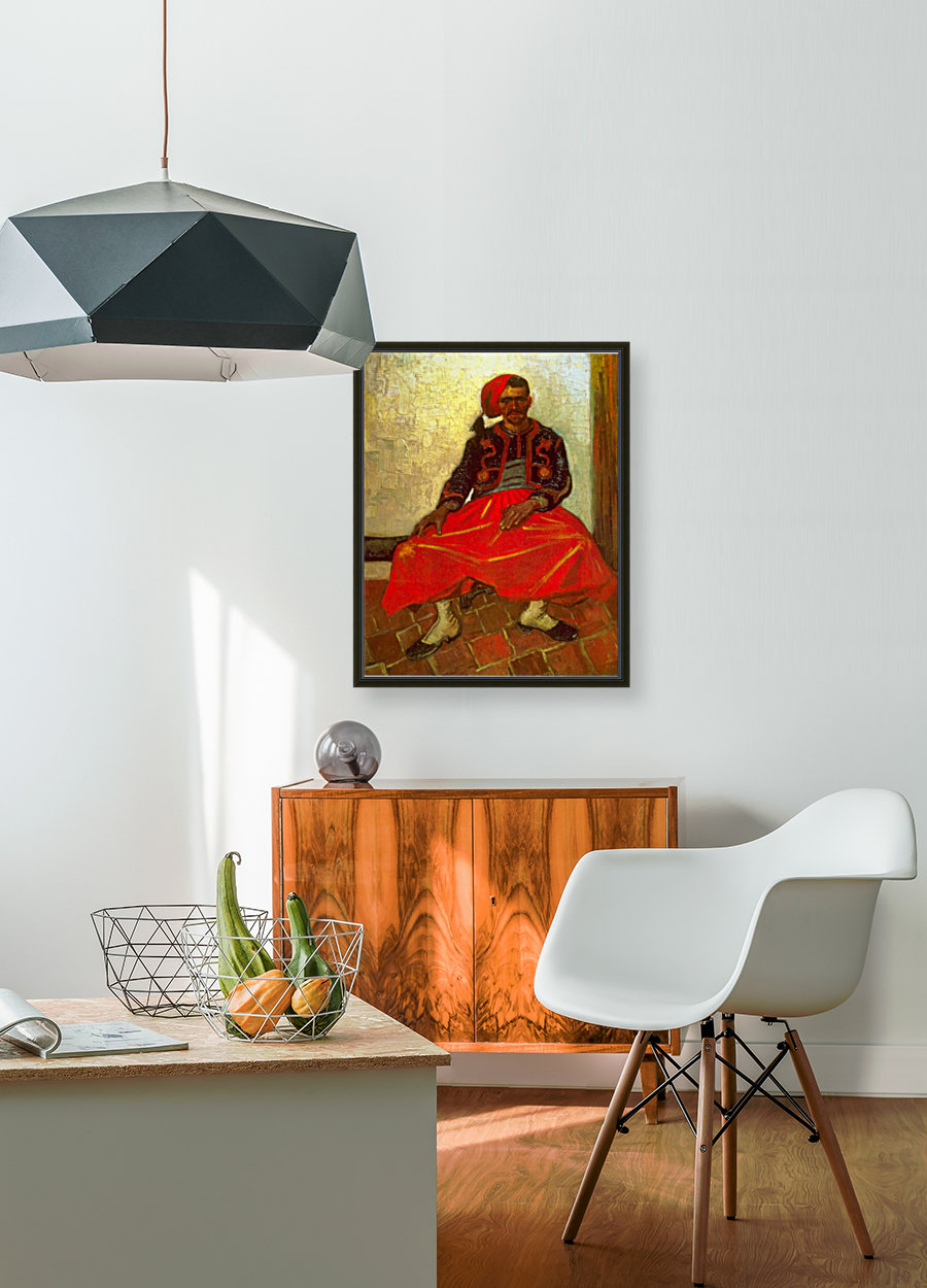 Zouave by Van Gogh  Art