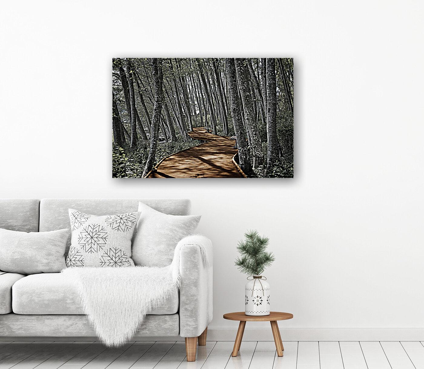 Boardwalk in the Woods  Art
