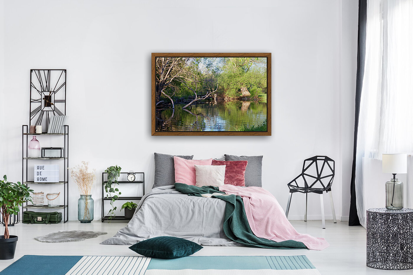 Relaxing Pond View  Art