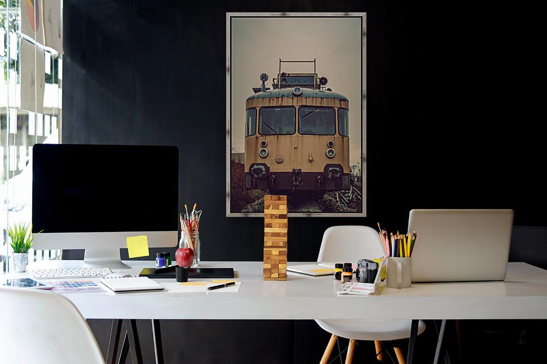 Junkyard train  Art