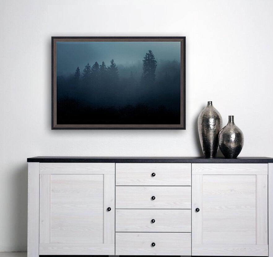 Foggy forest  Art