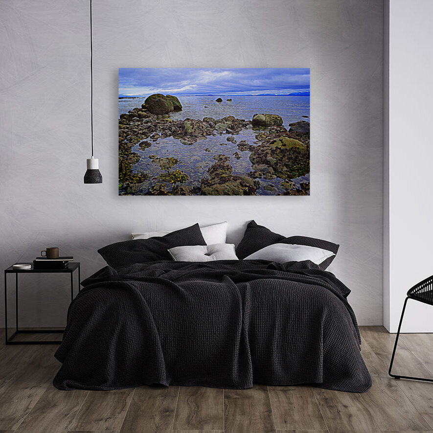 Tranquility at Low Tide  Art
