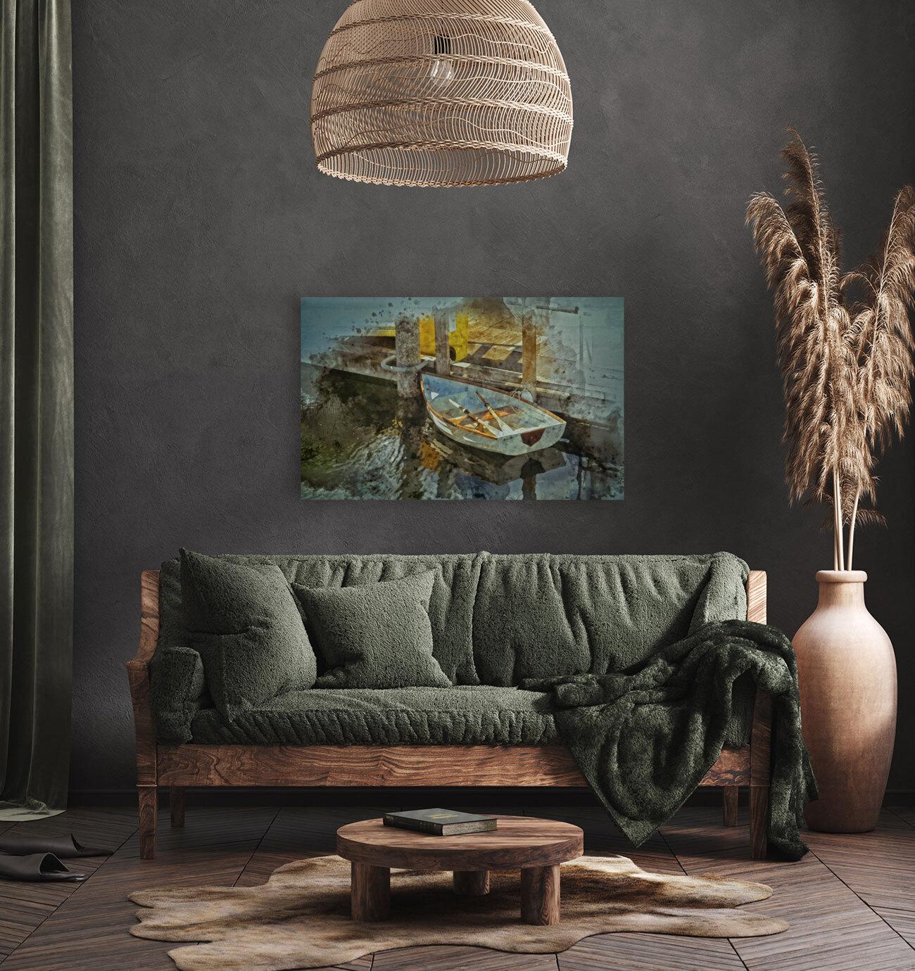 Rowboat  Art