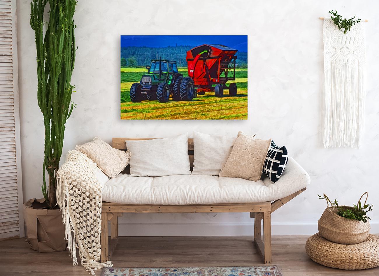 Making Hay  Art