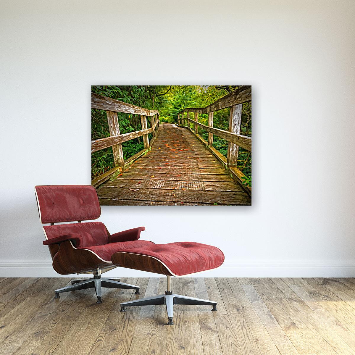 Bridge in the Sanctuary  Art