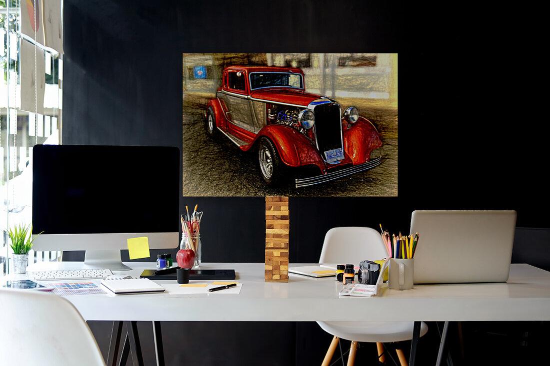 1933 Dodge Coupe  Art