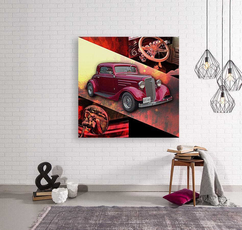 1935 Chevrolet 5-Window Coupe  Art