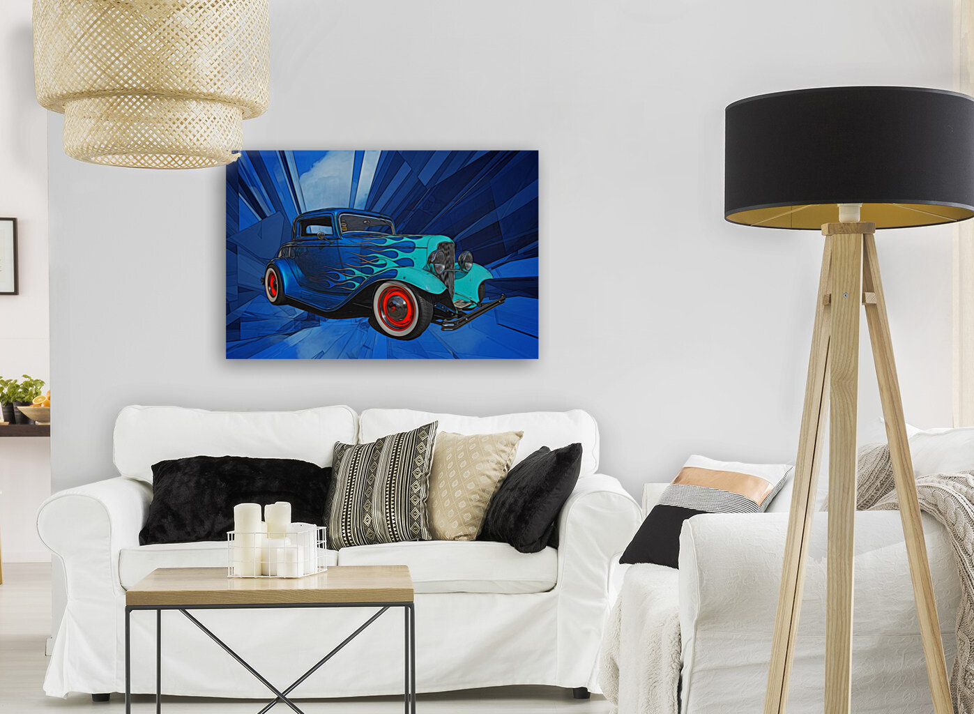1932 Ford 3-Window Coupe  Art