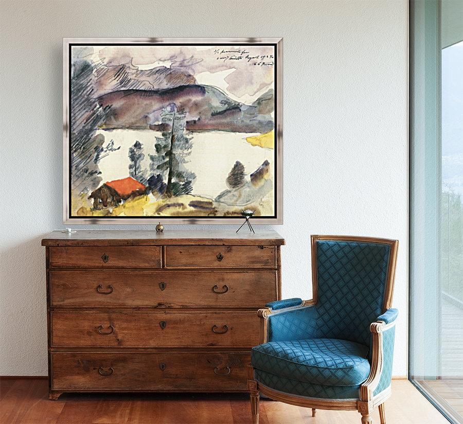 Walchensee -7- by Lovis Corinth  Art