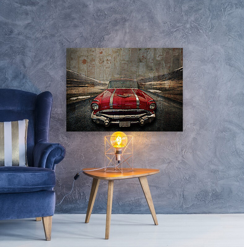 1956 Pontiac Strato-Streak  Art