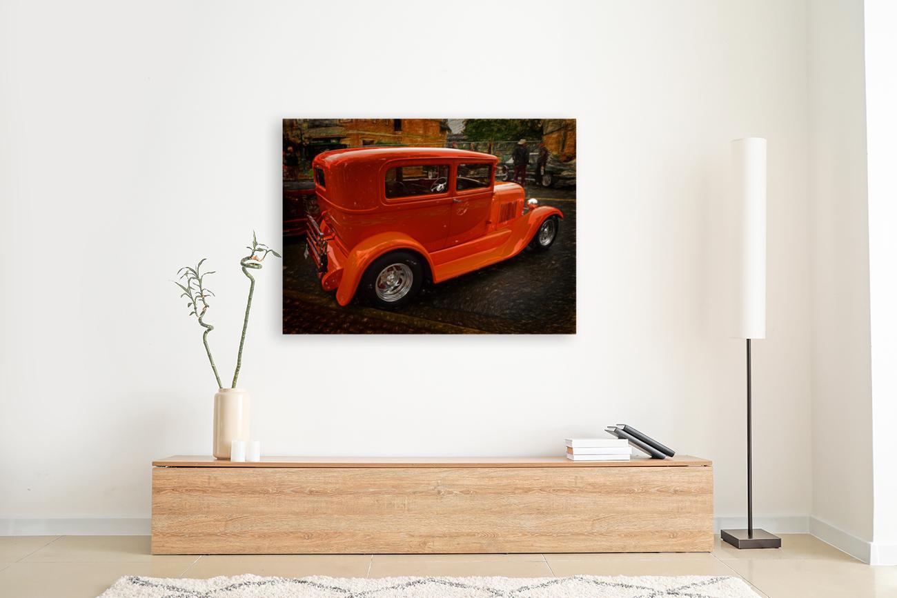 1929 Ford Tudor Sedan  Art