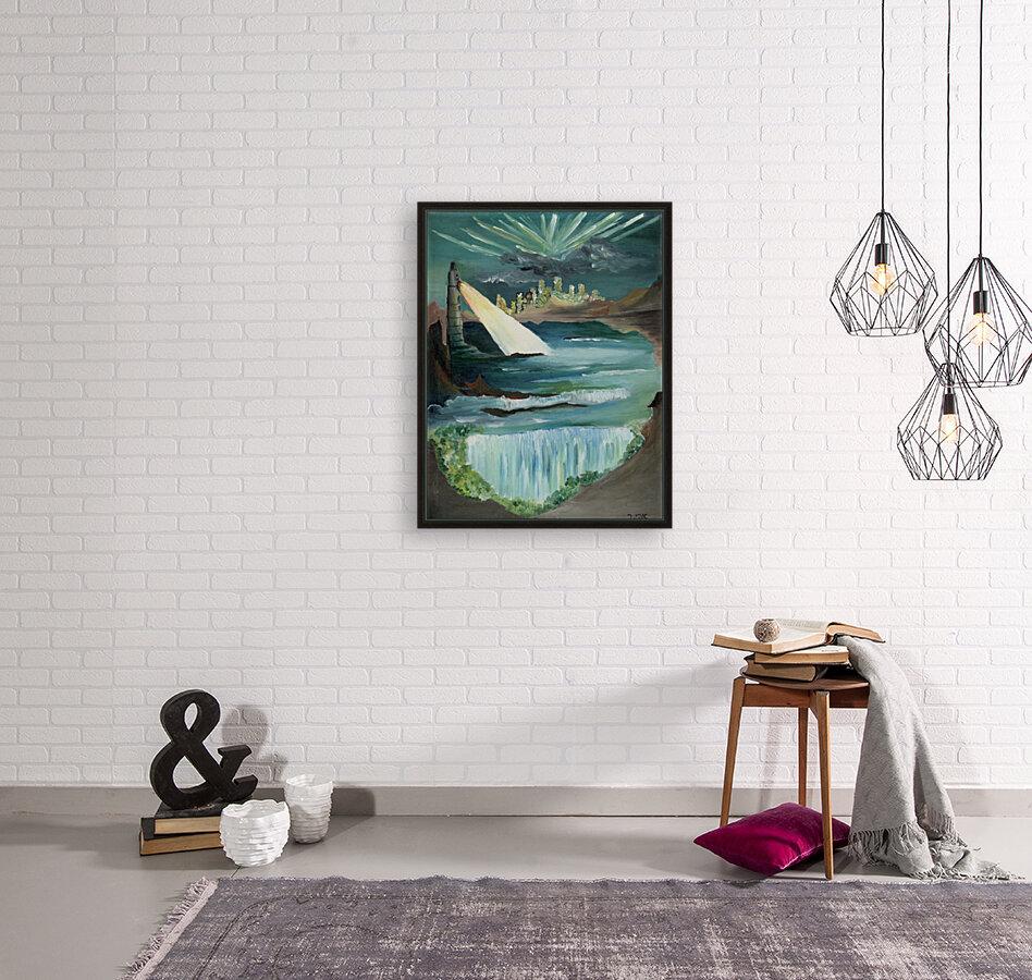RA 040 - אור המגדלור - Lighthouse light  Art