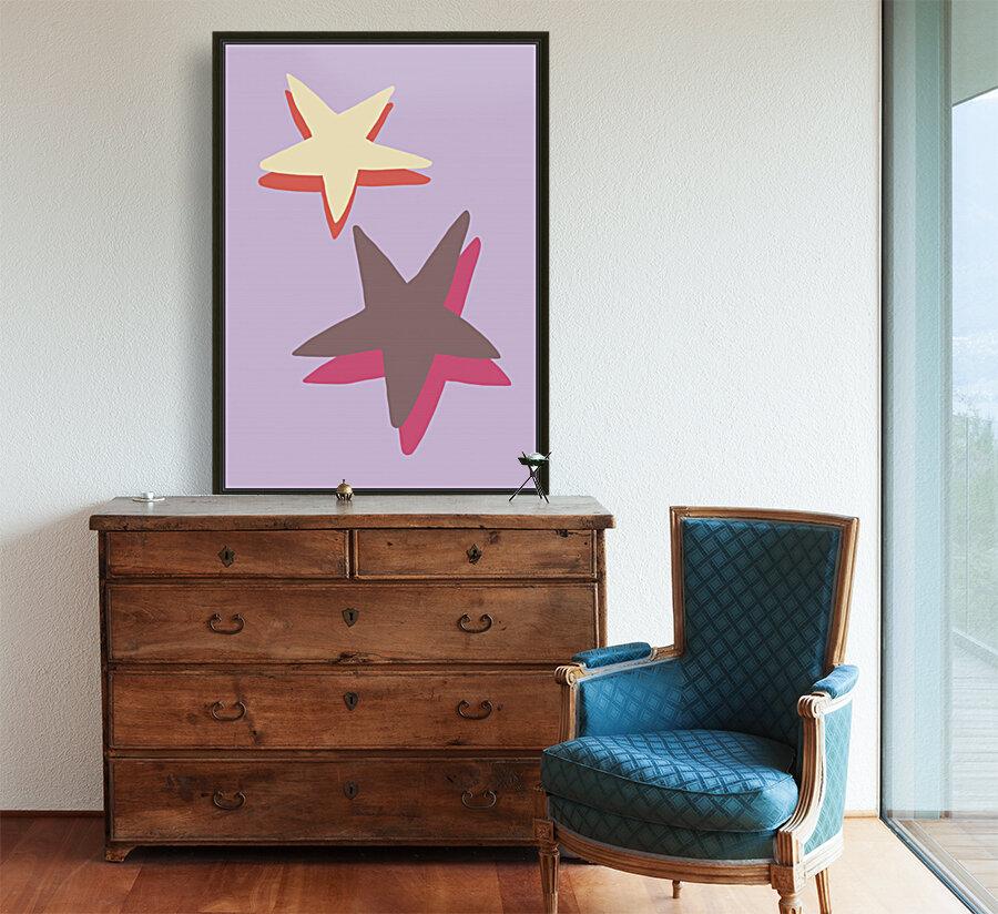 Lilac Star  Art