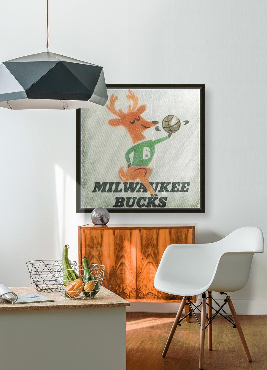 1974 Milwaukee Bucks Fleer Decal Art  Art