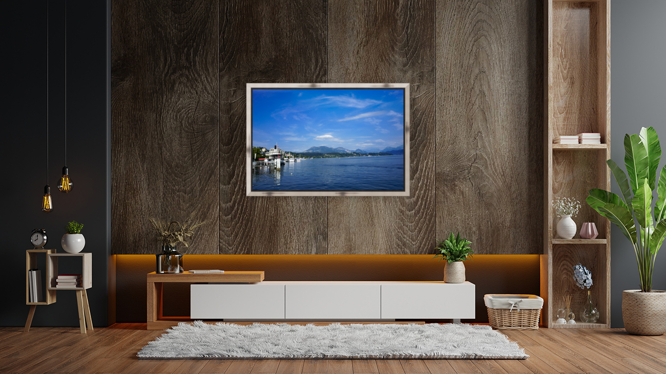 On the Shores of Lake Lucerne  Art