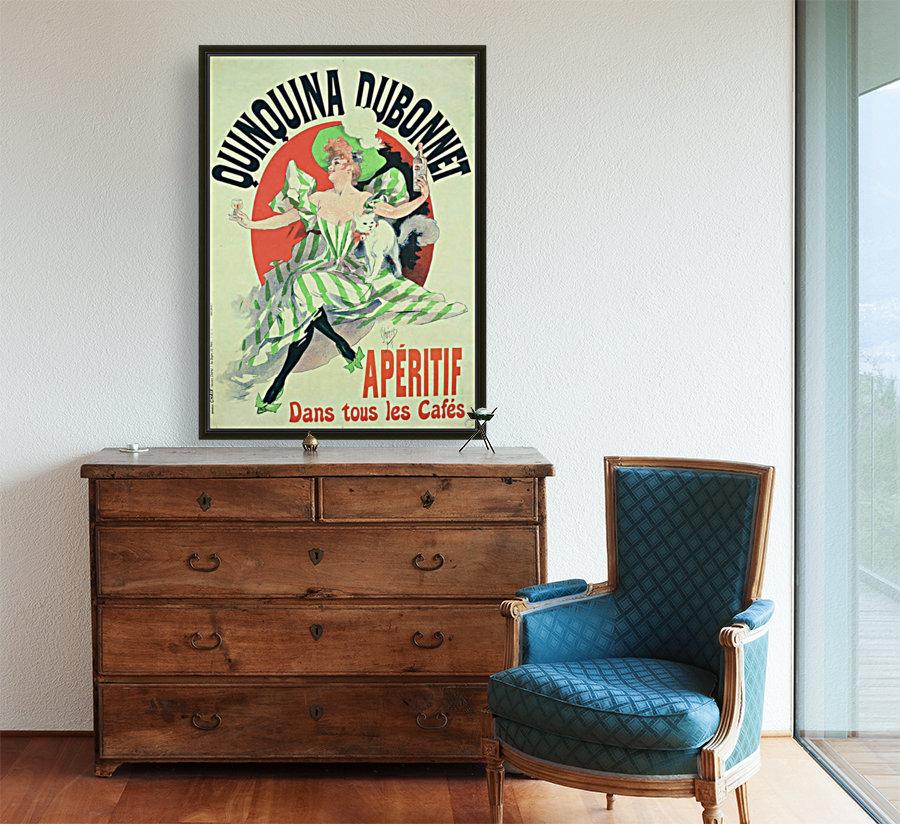 Quinquina Dubonnet - Aperitif dans tous les Cafes poster  Art