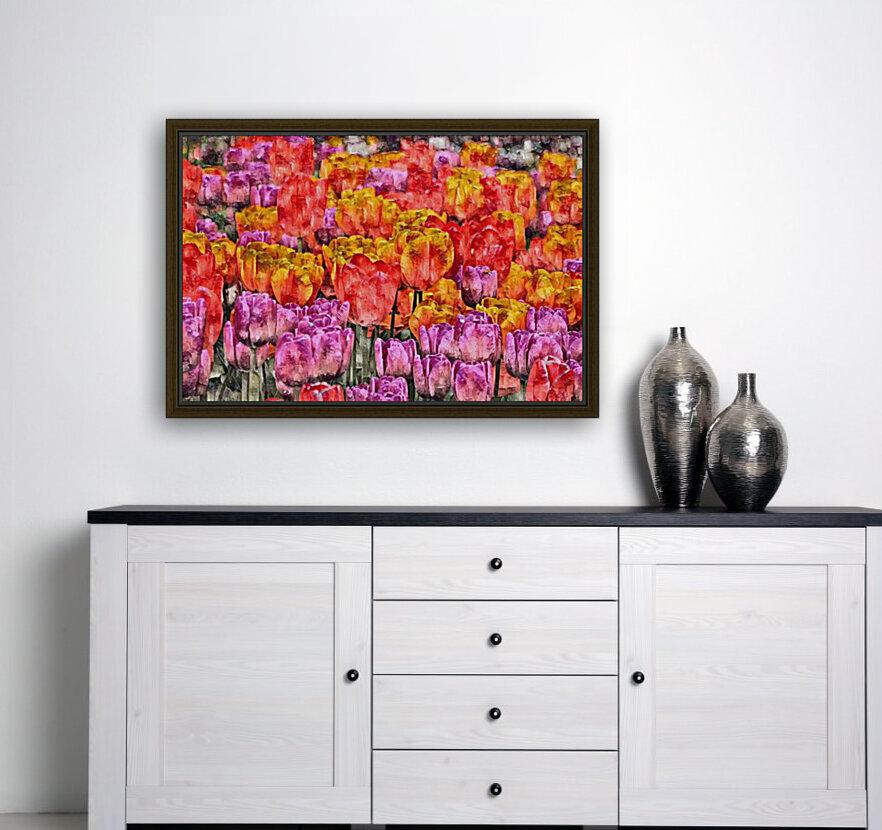 Tulips at Roozengaarde  Art