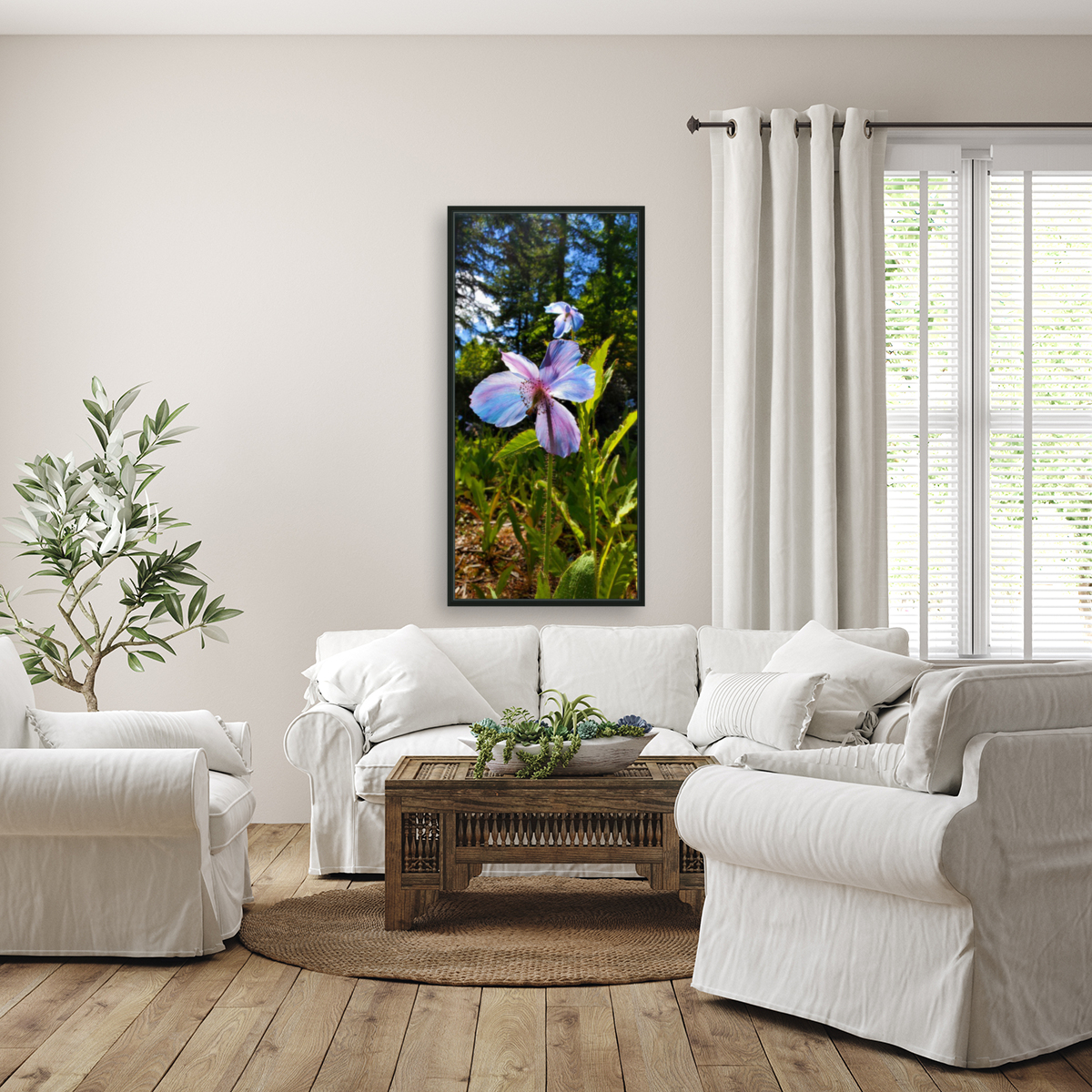 Poppy Blue  Art