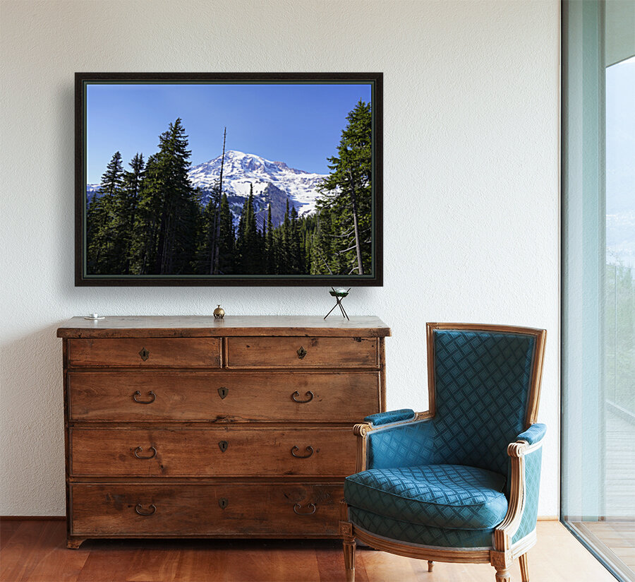 Mount Rainier Pacific Northwest Washington State  Art