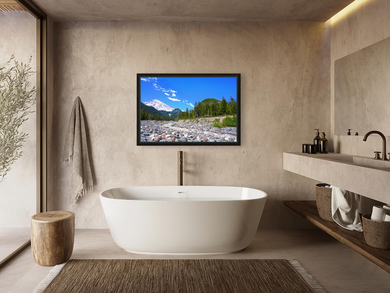 Spring Runoff Mount Rainier Pacific Northwest Washington State  Art