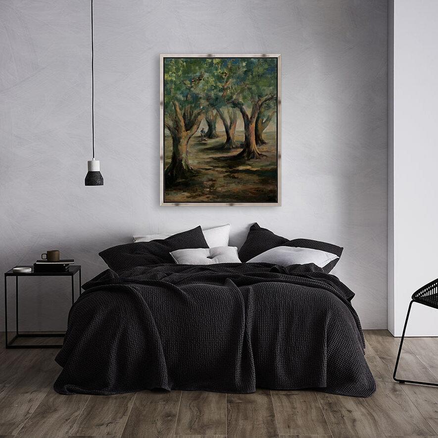 Oak trees  Art