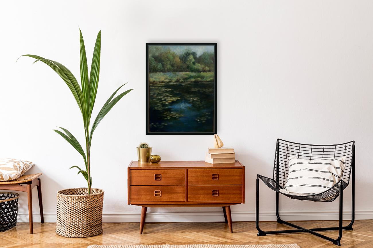 Calhoun pond  Art