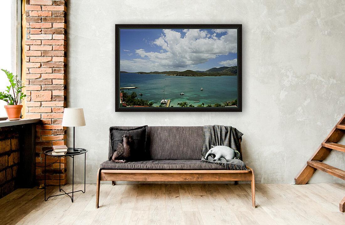 Saint Thomas in the Caribbean Islands  Art