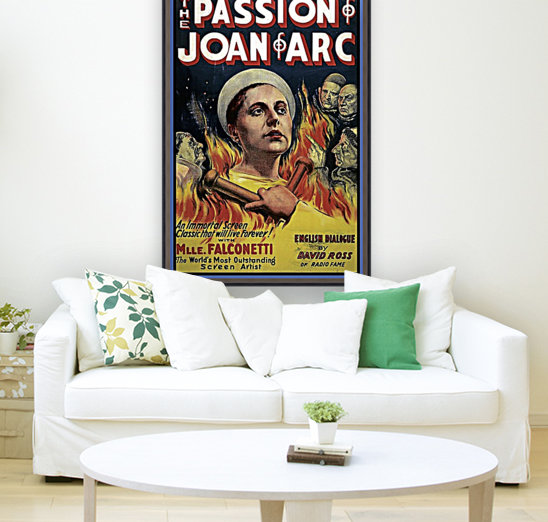 The Passion of Joan of Arc 1928 Ad  Art