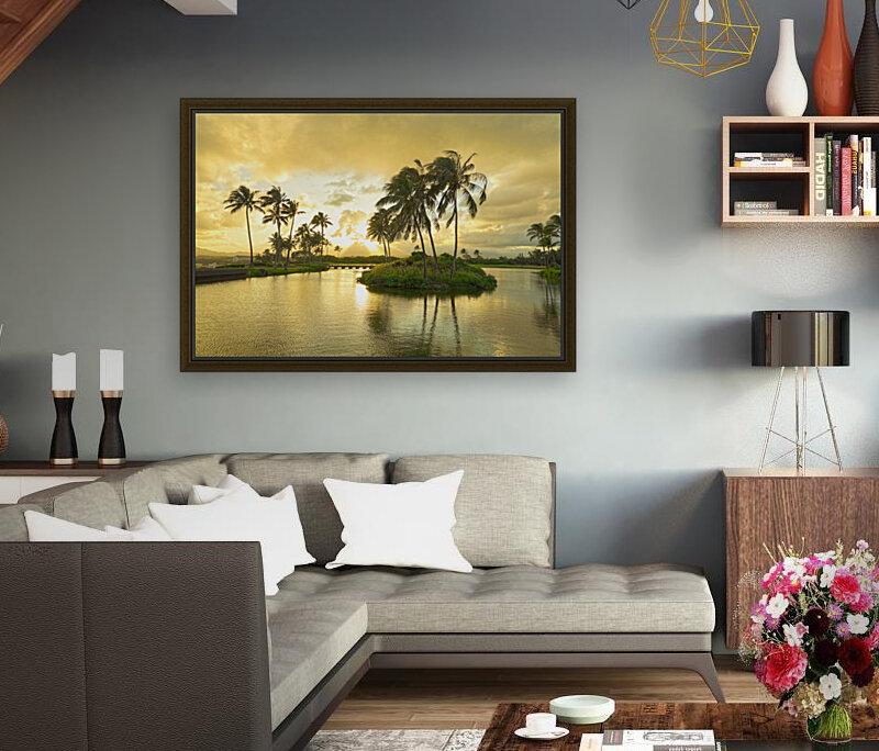 Shadows and Light as the Sun Sets in Kauai 2 of 2  Art