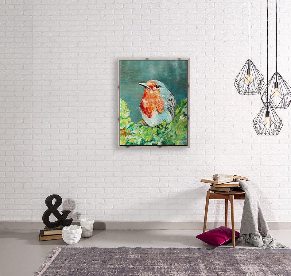 Bird Painting Robin  Art