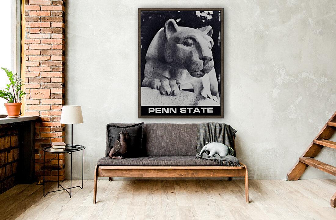 1988 Penn State Nittany Lion Shrine Art  Art