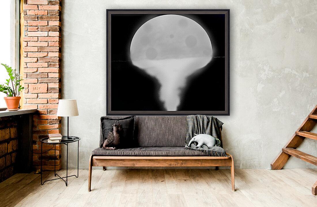 Moon Paint 5  Art