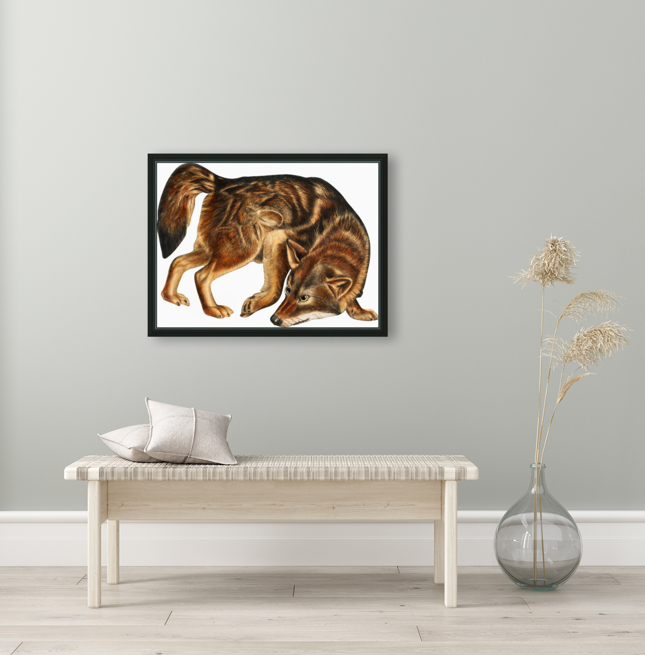 Fox Print | British Wildlife Art | A3 A4 A5 | Fox Lover Gift | Fox Illustration | Fox Painting | Fox Nursery Wall Art | British Animal Print  Art