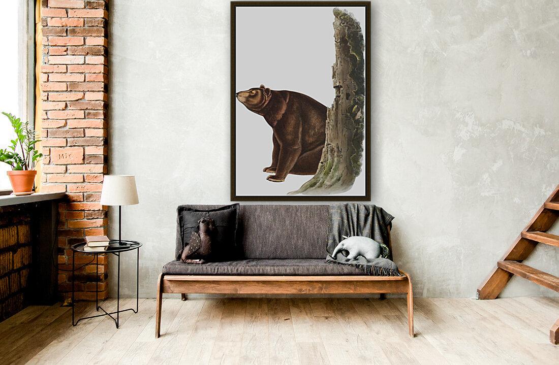 Bear Print  Art
