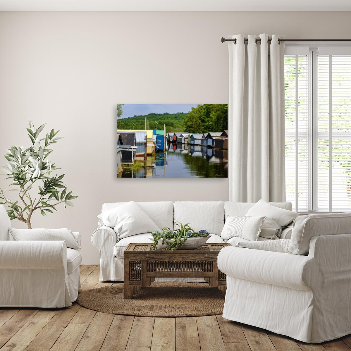 Hangars    bateaux - Boathouses  Art