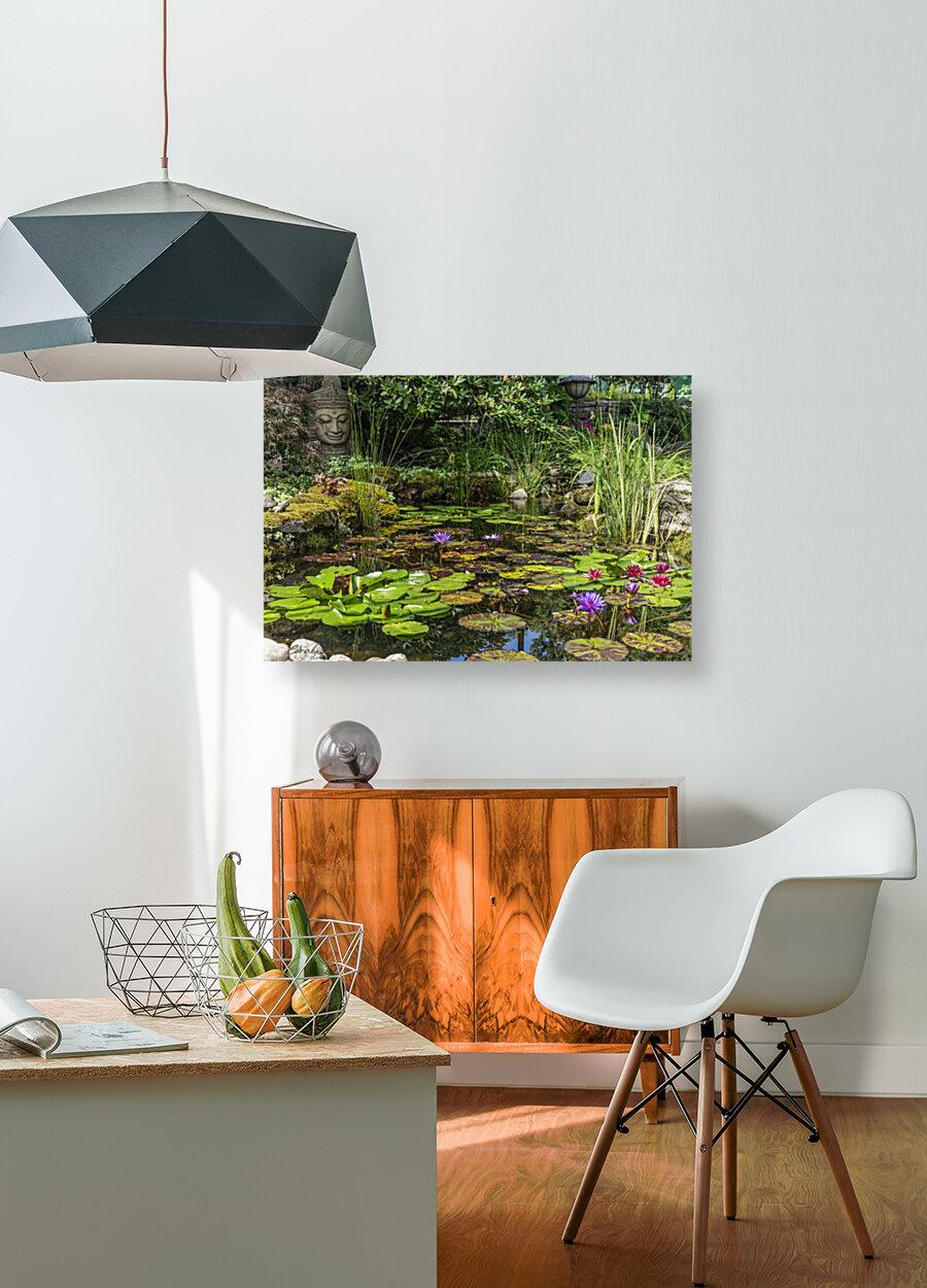 Divin Jardin d   eau   Divine Water Garden  Art