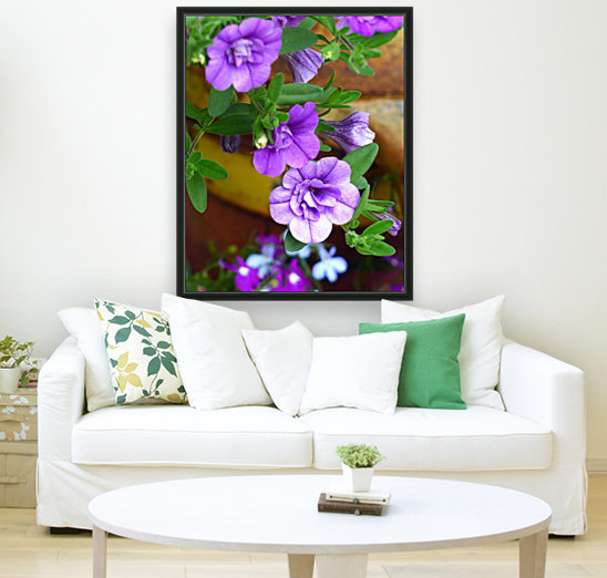 Purple Petals  Art