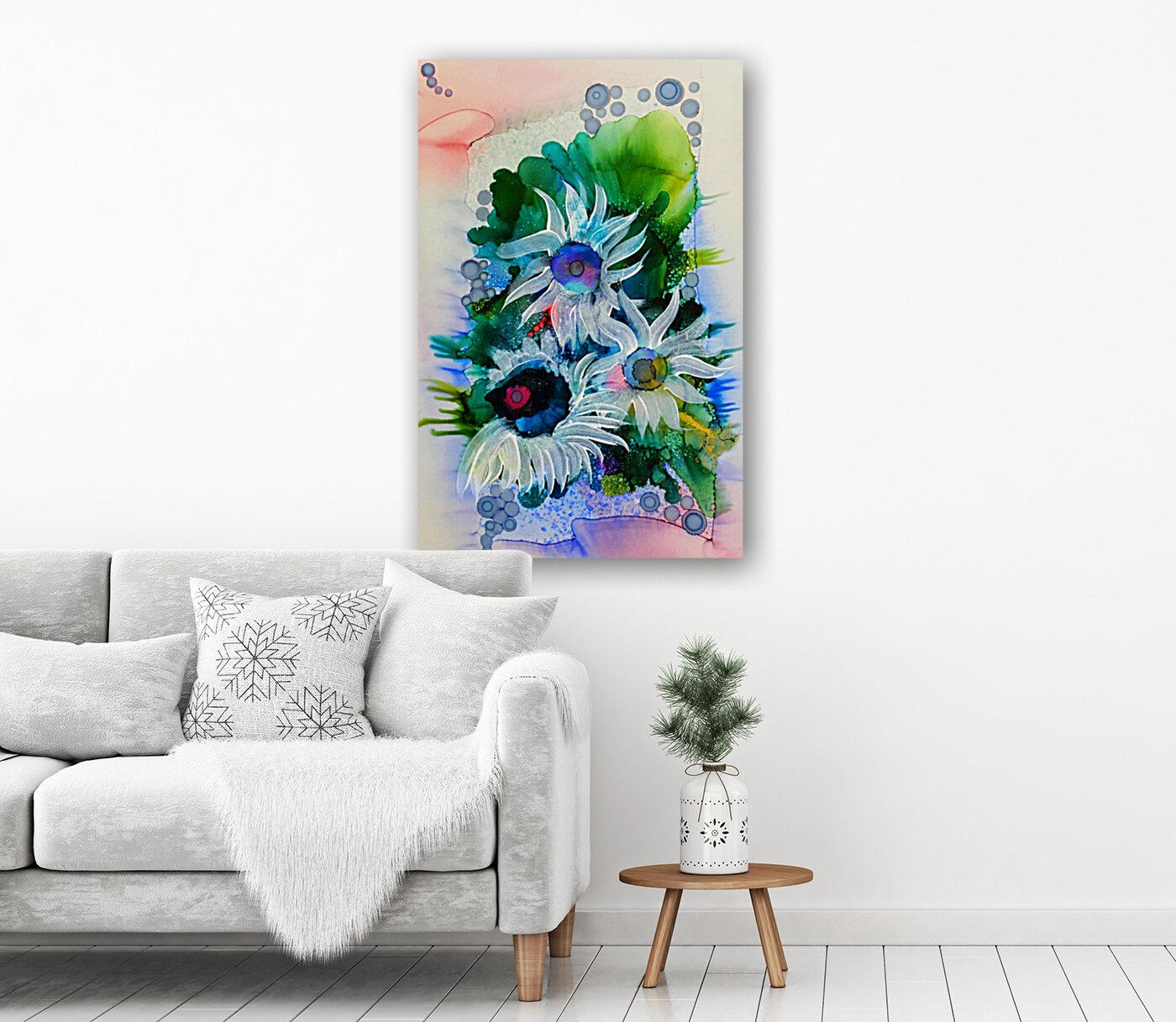 Floral Burst  Art