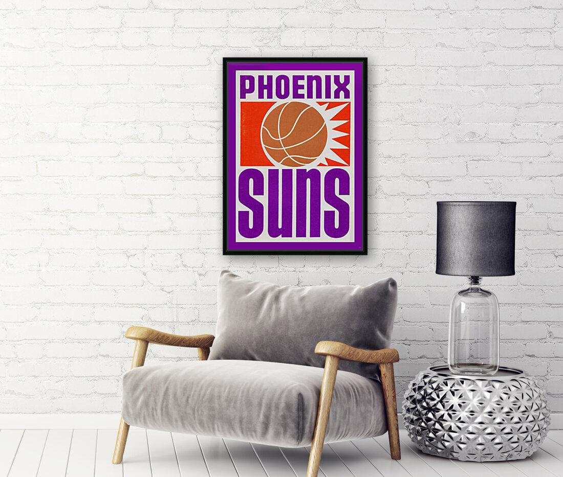 1970 Phoenix Suns Basketball Art  Art
