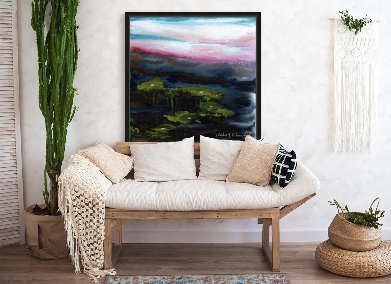 Channeling Monet  Art