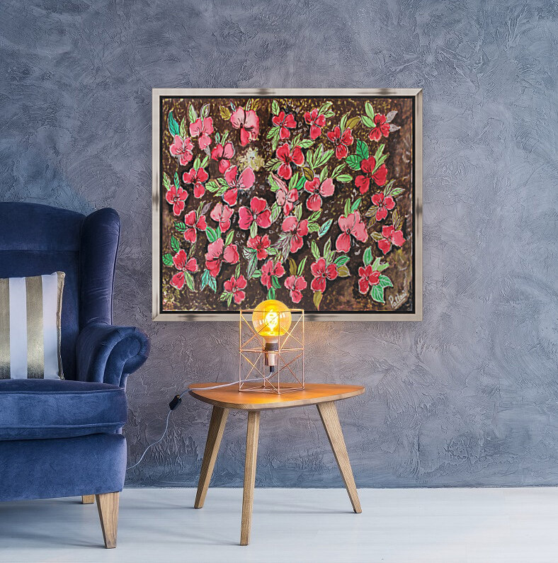 Redflowers  Art
