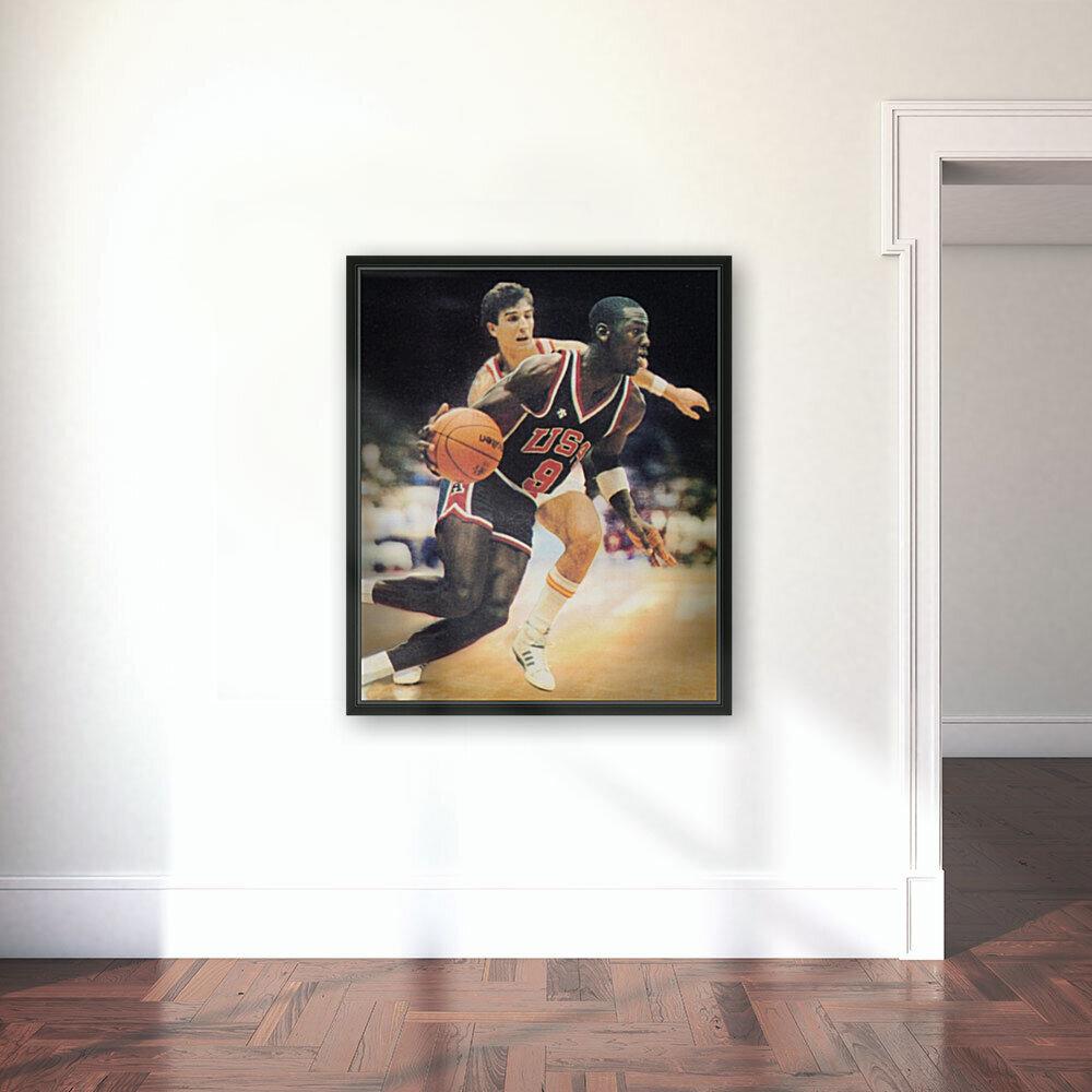 1984 Michael Jordan USA Basketball Art  Art
